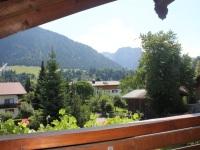 Ihre Aussicht vom gemütlichen Balkon
