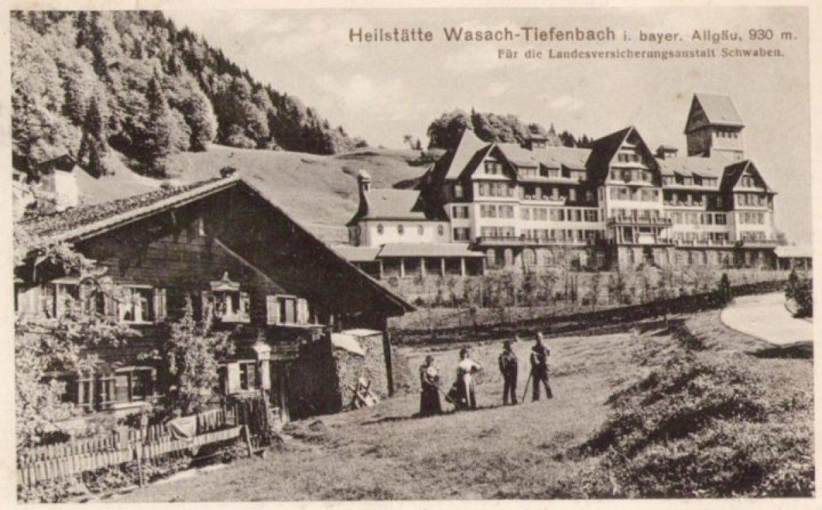 Tiefenbach - Heilstätte Wasach um 1917