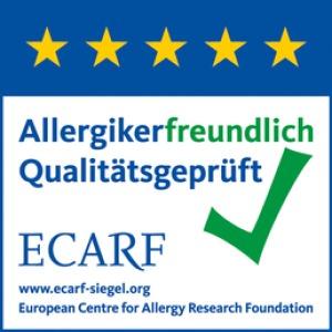 ECARF Qualitätssiegel => Gültigkeit bis Dez. 2017