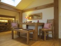 NEBELHORN - Esstisch mit Bank und Stühle