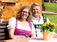 Ihre Gastgeber Annelies und Manfred Probst