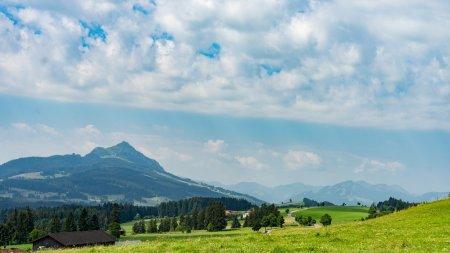 Bergpanorama auf den Grünten