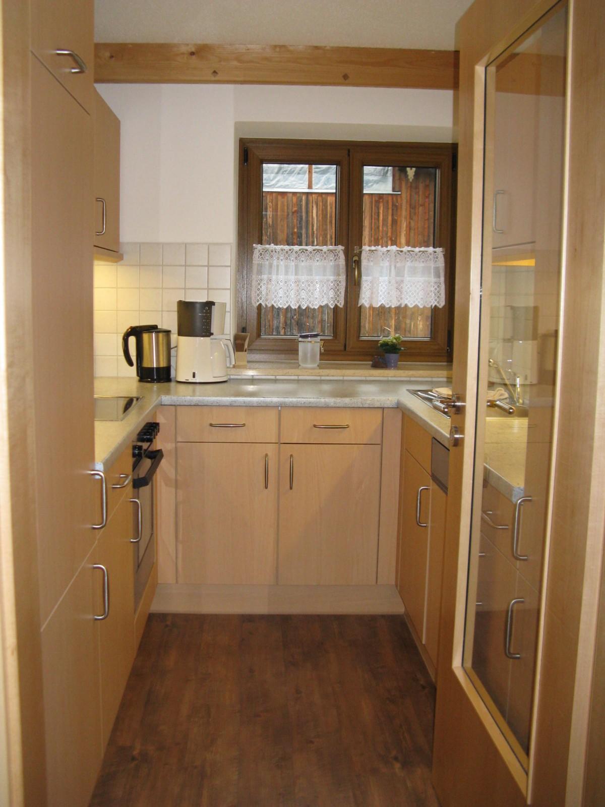 Westblick-Wohnung Küche