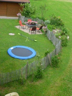 Garten mit Spielmöglichkeit