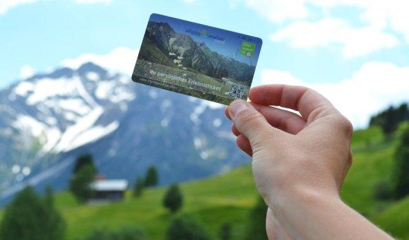 Allgäu Walser Card (c) - Kleinwalsertal Tourismus eGen