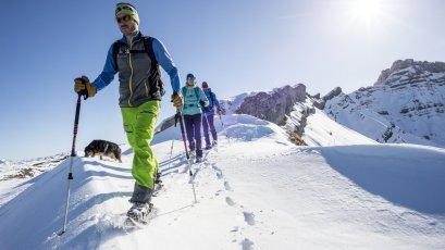 Schneeschuhwanderung Gottesacker (1) (c) Dominik Berchtold - Kleinwalsertal Tourismus eGen   Fotograf  Dominik Berchtold
