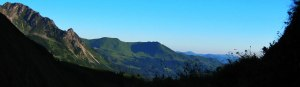 Panoramablick Oberstdorfer Berge