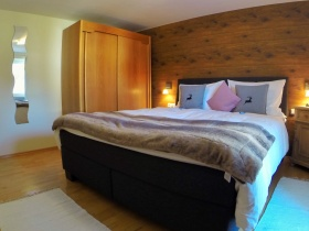 Schlafzimmer Ferienwohnung Pusteblume
