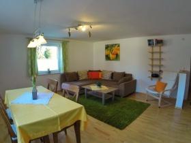 Wohnküche Ferienwohnung Pusteblume