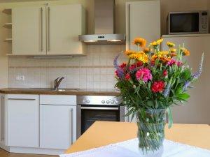 Küchenzeile Ferienwohnung Pusteblume