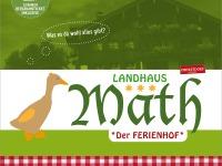 Landhaus Math