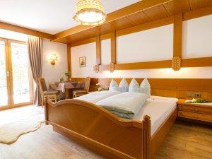 Schlafzimmer Ferienwohnung Nr. 9
