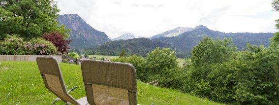 Ausblick Landhaus Menz