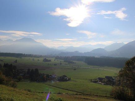 Ausblick-Berge