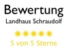 Bewertung Landhaus Schraudolf
