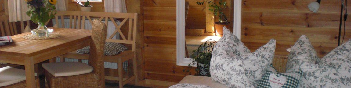 Doppelschlafcouch im Wohnbereich