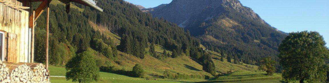 Goldener Herbst mit dem Rubihorn