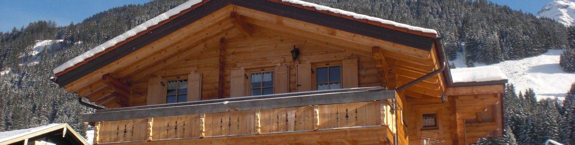 Winterurlaub im Holzhaus