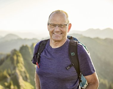 Gastgeber Andreas Holzmann