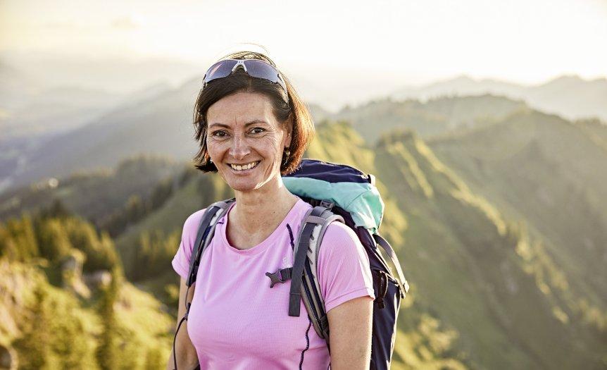 Gastgeberin Stephanie Holzmann