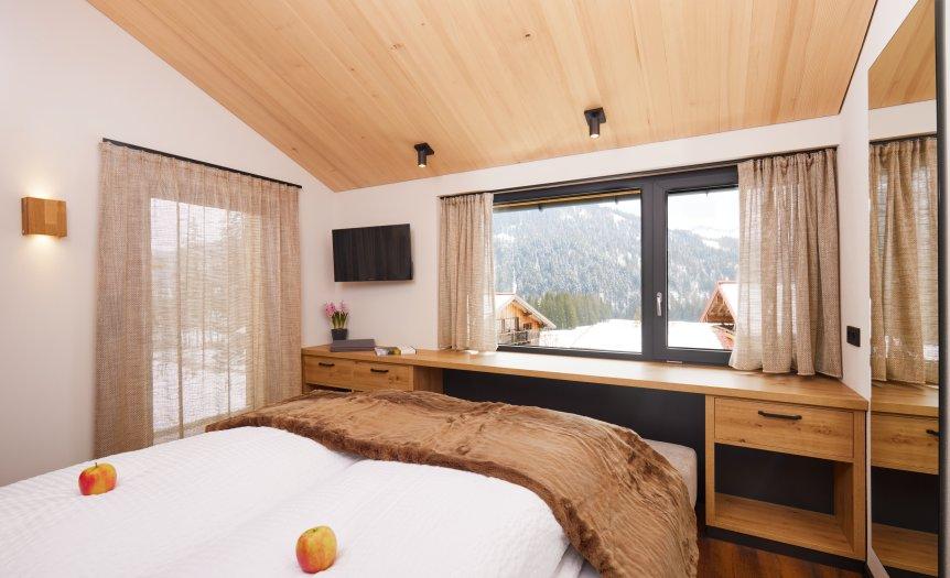 Suite Die FÜNF - Schlafzimmer