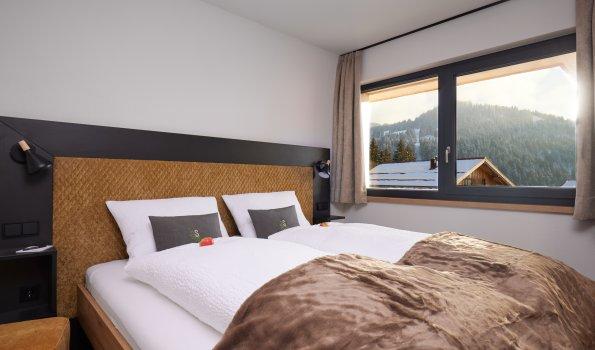 Suite Die ZWEI - Schlafzimmer