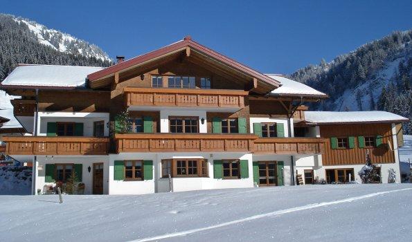 Landhaus am Siplinger im Winter