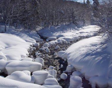 Bolgenach im Winter
