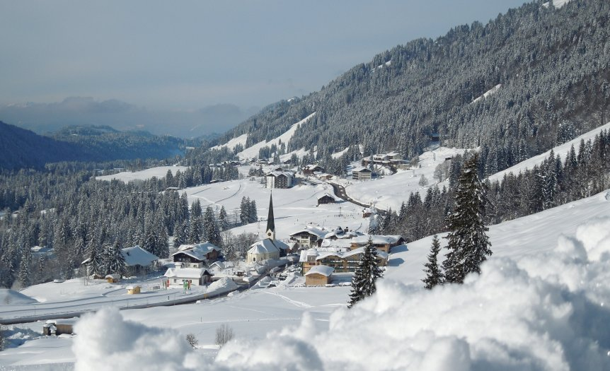 Balderschwang im Winter