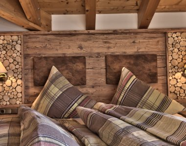 Gipfelsicht Schlafzimmer