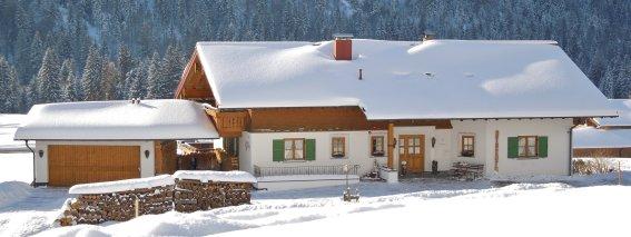 Landhaus Siplinger im Winter