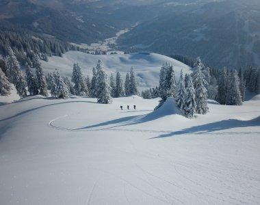 Skitouren direkt ab der Urlaubstür