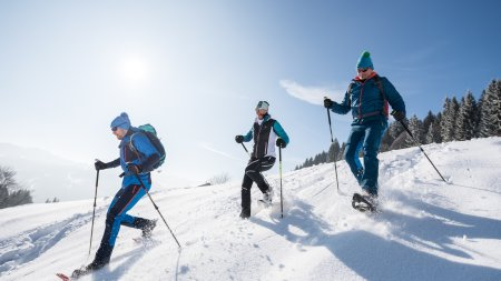 Schneeschuhwandern in Balderschwang