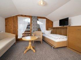 Ferienwohnung 6 - Wohnschlafbereich