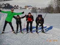 skaten und langlauf ein Riesen Spass
