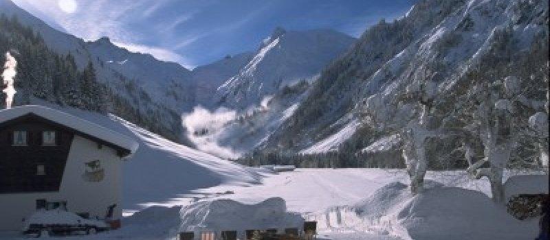 Unser Landhaus im tiefsten Winter