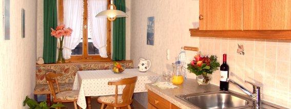 Ferienwohnung Nebelhorn Küche