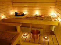 Wohlig warme Sauna