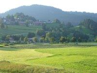 Blick aus Ferienwohnung Geißhorn