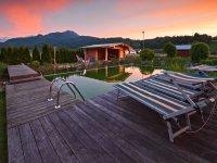 Schwimmteich Landhaus in d´r Wies