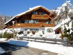 Landhaus Theresa erstrahlt in der Wintersonne