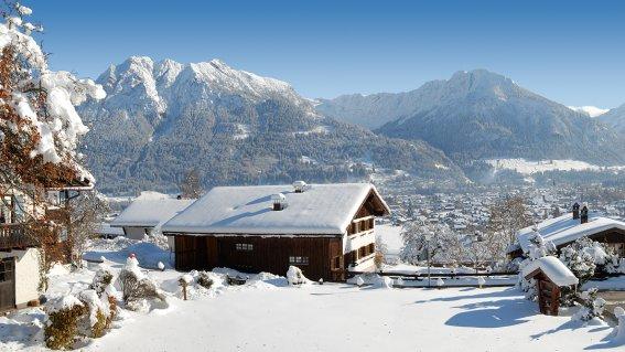 Landhaus Theresa - Blick auf Oberstdorf