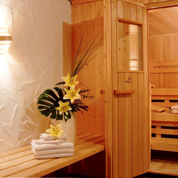 Sauna u. Solarium im Landhaus Theresa