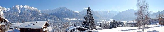 Winterpanorama Landhaus Theresa