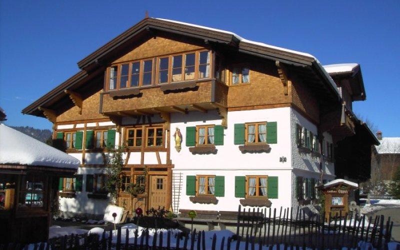 Landhaus Huber - im Winter