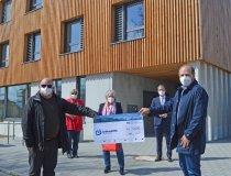 Spende Raiffeisenbank Kempten-Oberallgäu