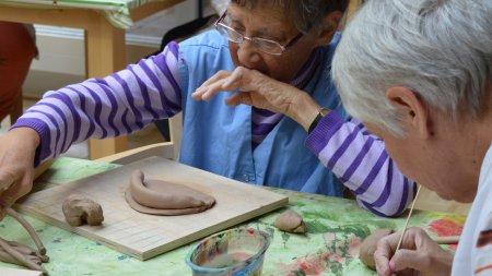 Kunsttherapie der Senioren