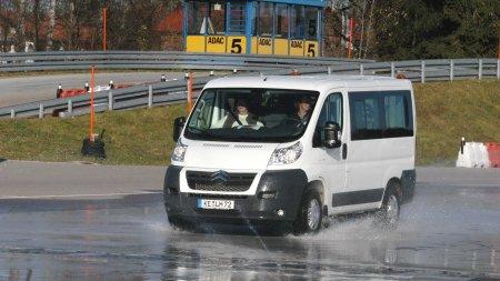 Beförderungsdienst beim Fahrtraining