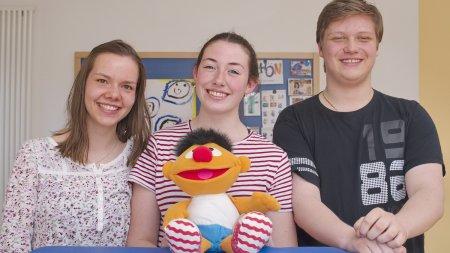 Junge Menschen beim Bundesfreiwilligendienst