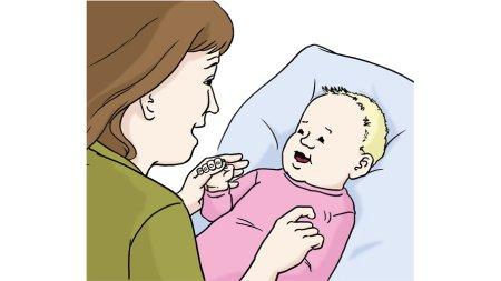 Spielen mit Baby